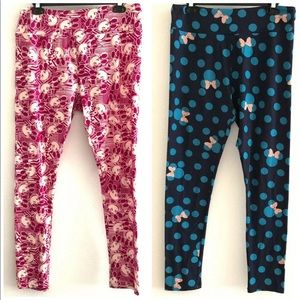 TC Tall Curvy Disney leggings Mickey Minnie